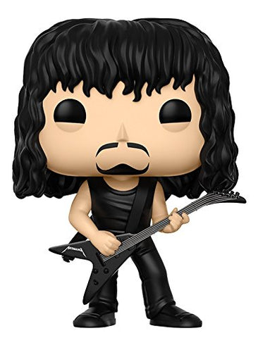 Funko Pop Rocks Metallica-Kirk Hammett Collectible Figure