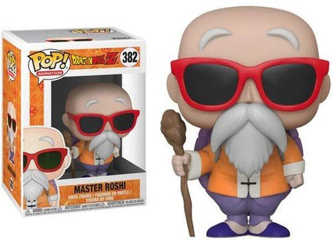 Funko POP! DragonBall Z Master Roshi With Staff Vinyl Figure