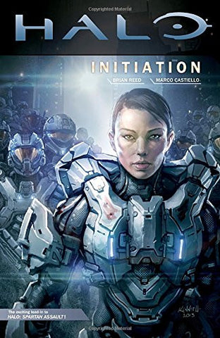 Halo Initiation Hardcover