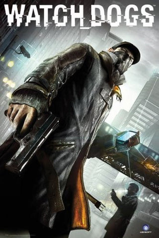 Watch Dogs Cover Poster