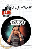 The Big Bang Theory Explode Sticker