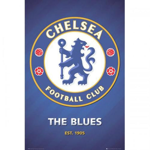 Chelsea Club Crest Poster