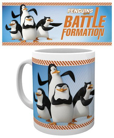 Penguins Of Madagascar Battle Formation Mugs
