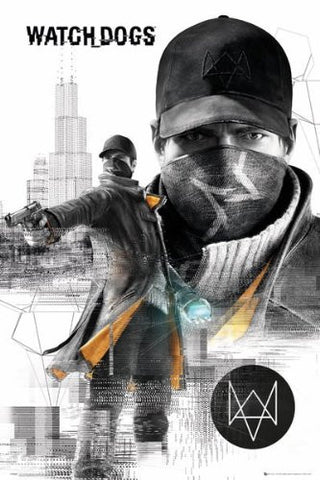 Watch Dogs City Poster