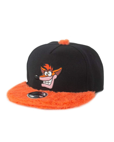 Crash Bandicoot Furry Crash Snapback Cap