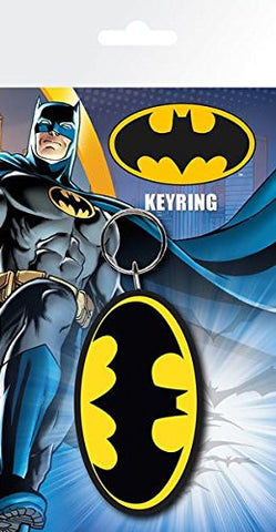 Batman Comic Logo Keychain