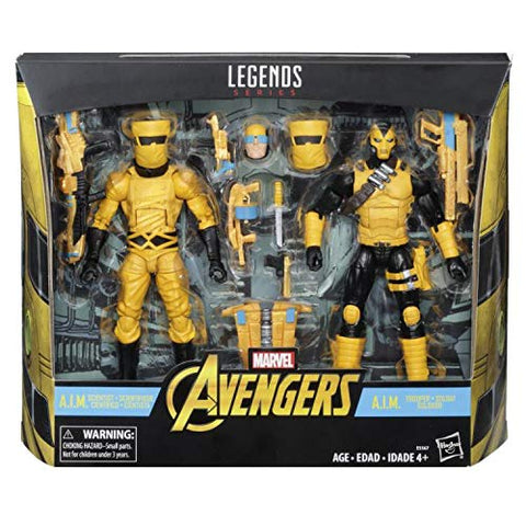 Legends A.I.M. Scientist & Shock Trooper Action Figure