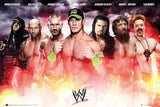 WWE Collage 2014 Poster