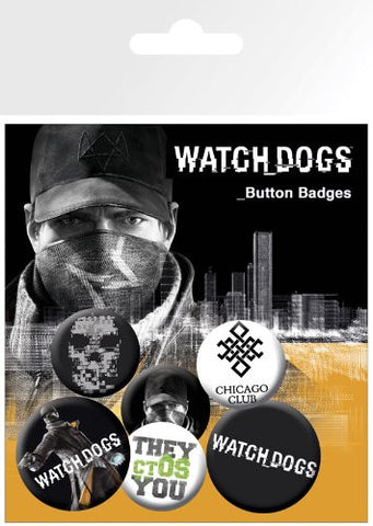 Watch Dogs Aiden Badge pack
