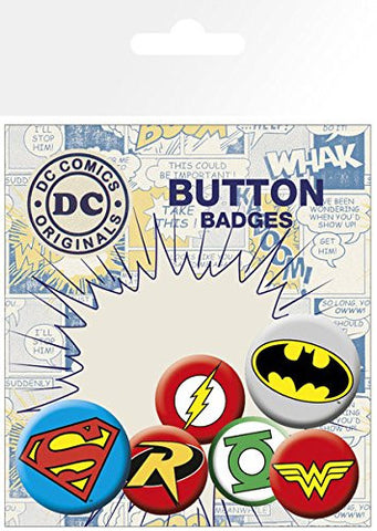DC Comics Logos Badge pack