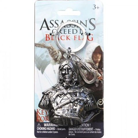 Assassin's Creed 4 Keychain Edward Bust