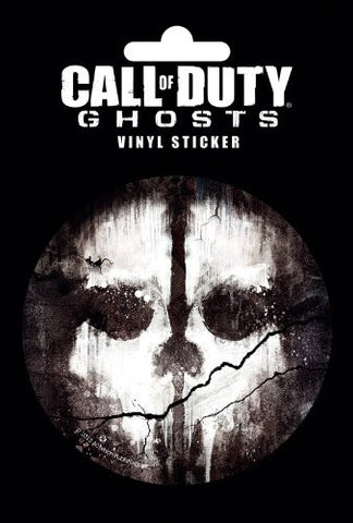 Call of Duty Ghosts Skull Sticker