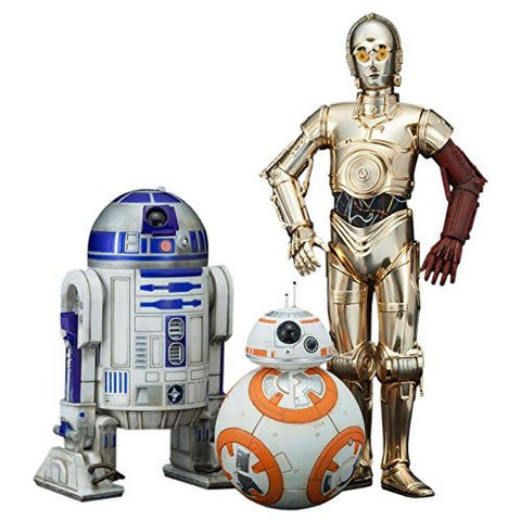 ArtFX Star Wars C3PO R2D2 and BB8 1:10 Scale Statue