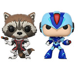 Funko POP Marvel vs. Capcom Rocket Vs MegaMan Vinyl Figure