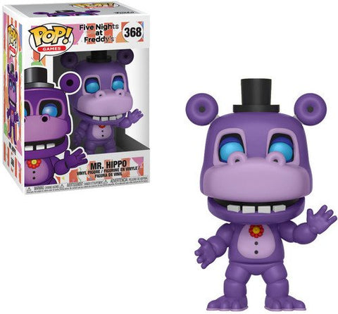 Funko POP! Five Nights At Freddy's Pizza Simulator Mr Hippo Vinyl Figure
