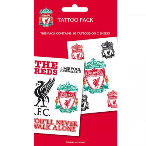 Liverpool Crests Tattoo pack