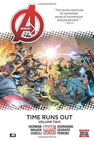 Avengers Time Runs Out Volume 2