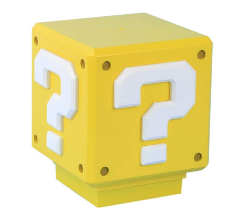 Super Mario Mini Question Block Light with Sound