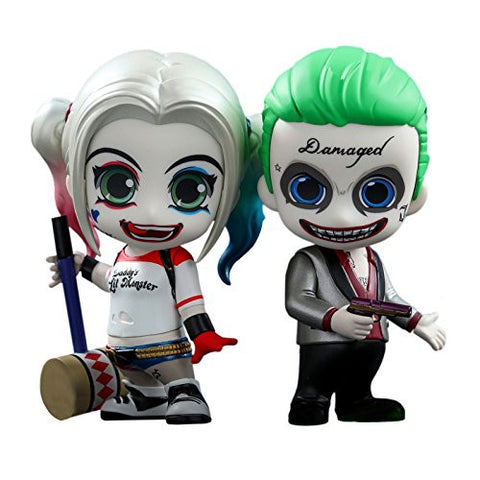 Cosbaby Suicide Squad The Joker & Harley Quinn Collectible Set