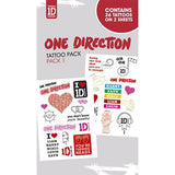One Direction Symbols Tattoo pack