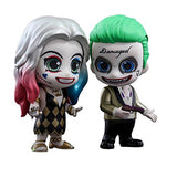Cosbaby Suicide Squad The Joker Gold Suit & Harley Quinn Dancer Set