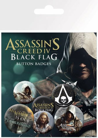 Assassin's Creed 4 Black Flag Badge Pack