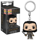 Funko POP! Game of Thrones Jon Snow Beyond The Wall Keychain