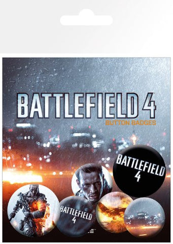 Battlefield 4 Cover Badge pack