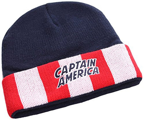 Captain America Star And Stripes Beanie