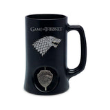 Game Of Thrones 3D Swirling Targaryen Symbol Rotating Stein Mug