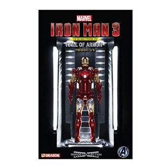 Iron Man 3 Action Hero Vignette Mark XXI Hall of Armor