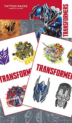 GB eye Transformers 4 Age of Extinction Tattoo Pack, Multi-Colour