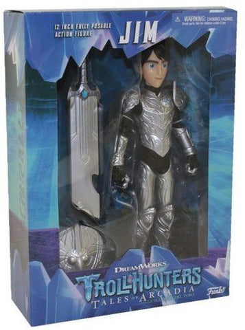 Trollhunters Jim Deluxe 9-Inch Action Figure