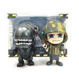 Cosbaby Aliens Alien & USCM Collectible Set