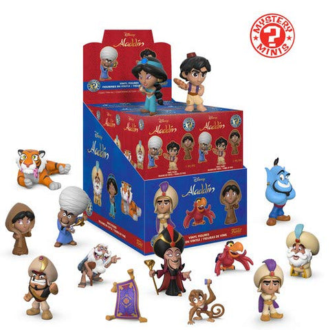 Funko! Aladdin Mystery Mini Blind Box Disney (1 ASSORTED RANDOM FIGURE)