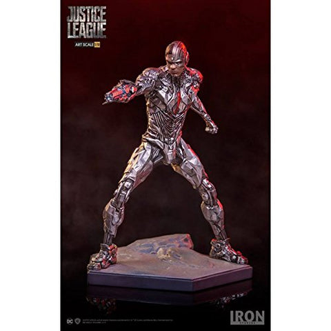 Iron Studios Justice League Cyborg 1:10 Scale Statue