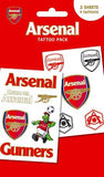 Arsenal Crests Tattoo Pack