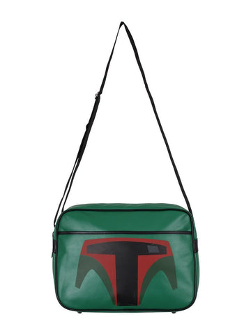 Star Wars Boba Fett green Messenger Bag