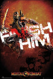 Mortal Kombat Finish Him Poster