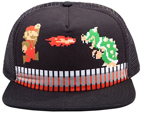 Nintendo Mario Attack Snap Back Cap