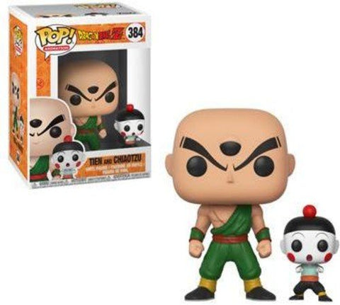 Funko POP! DragonBall Z Tien And Chiaotzu Vinyl Figure