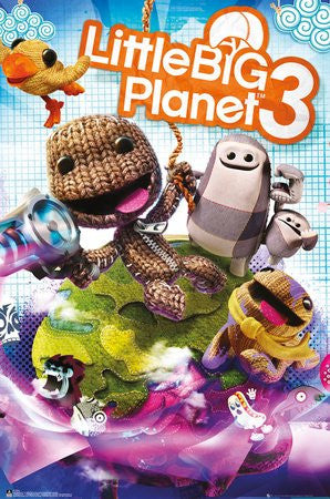 Little Big Planet 3 Cover Poster