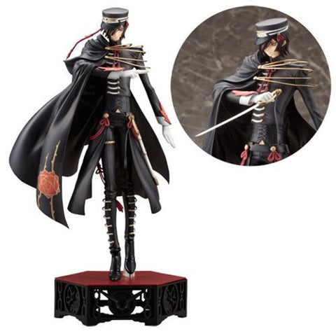 ArtFX J Code Geass Code Black Lelouch Lamperouge Statue