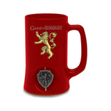 Game Of Thrones 3D Rotating Lannister Stein Mug