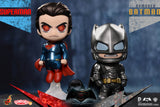 Batman v Superman Cosbaby - Armored Batman & Superman Set