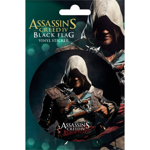 Assassin's Creed 4 Black Flag Edward Sticker