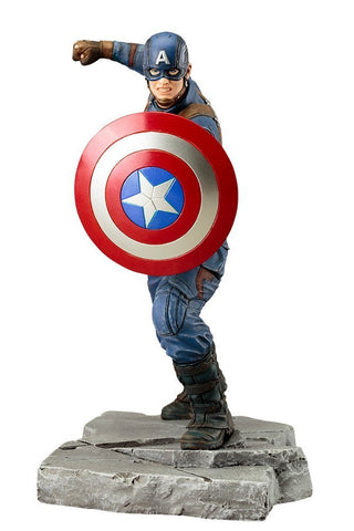 ARTFX Civil War Captain America 1/10 PVC Statue