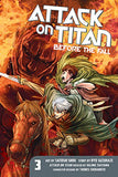 Attack On Titan Before the Fall Vol.3 Paper Back