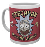 Rick And Morty Szechuan Dipping Sauce Mug