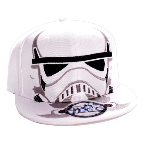 Star Wars Trooper Mask Cap White